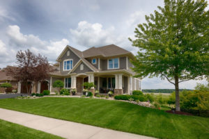 House, Street, Residential Building, USA, Front or Back Yard