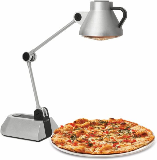 image of a Heated Lamp heating a pizza,For Food